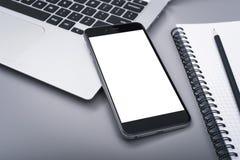 Smartphone mockup obraz stock