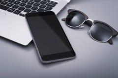 Smartphone-model Royalty-vrije Stock Foto's