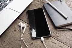 Smartphone-model Stock Afbeelding