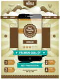 Smartphone moderno Fotografia Stock
