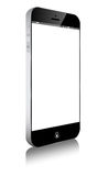 Smartphone Moibile similar iphone. On white Royalty Free Stock Photos