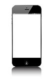 Smartphone Moibile similar iphone. On white Royalty Free Stock Photo