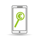 Smartphone money concept Royalty Free Stock Photography