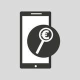 Smartphone money concept Stock Photo