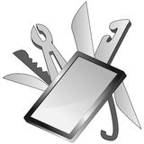 Smartphone Multi Tool Device Royalty Free Stock Image