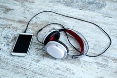 Smartphone Music Stock Image