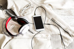 Smartphone Music Stock Photography