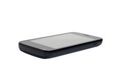 Smartphone negro Imagenes de archivo
