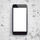 Smartphone-Netwerkgegevens stock illustratie