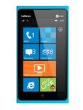 Smartphone novo Lumia 900 de Nokia. Foto de Stock Royalty Free
