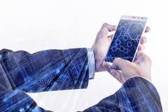 Smartphone och Tech Royaltyfria Bilder