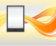 Smartphone oder Tablette lizenzfreie abbildung