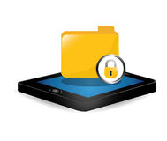 Smartphone optimization and tuning data center Royalty Free Stock Photo