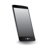 Smartphone på en vinkel Royaltyfria Foton