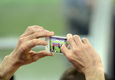 Smartphone Photography Stock Images