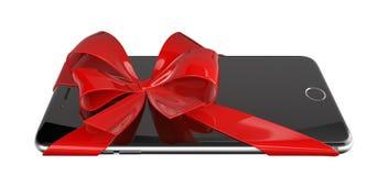 Smartphone present Royalty Free Stock Photo