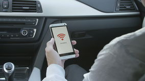 Smartphone que conecta a WiFi filme