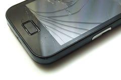 Smartphone quebrado Imagenes de archivo