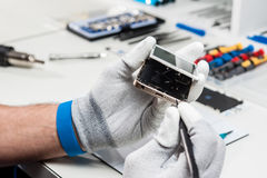 Smartphone repair Royalty Free Stock Photography