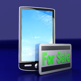 Smartphone for Sale Stock Images
