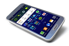 Smartphone Samsung galaxy S5 Stock Photo