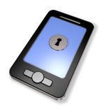 Smartphone security Royalty Free Stock Images