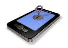Smartphone security Royalty Free Stock Photos