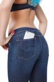 Smartphone 'sexy' Imagem de Stock Royalty Free