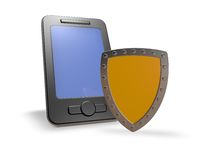 Smartphone security Royalty Free Stock Image
