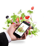 Smartphone shot food photo Stock Images