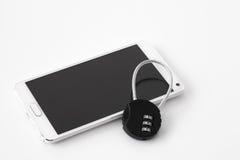 Smartphone-Sicherheit Lizenzfreie Stockfotografie