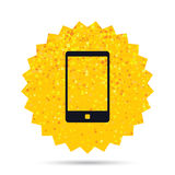 Smartphone sign icon. Support symbol. Royalty Free Stock Photos