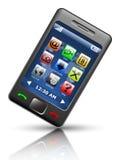Smartphone simplificado Fotografía de archivo