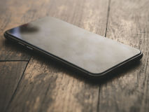 Smartphone Smartphone preto clássico Fotografia de Stock