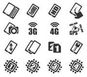 Smartphone, specificaties en functies Royalty-vrije Stock Afbeeldingen