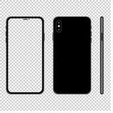 Smartphone-spot op illustratie stock illustratie