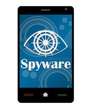 Smartphone Spyware Stock Images