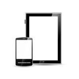 Smartphone and tablet Royalty Free Stock Image