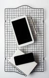 Smartphone, Tablet and Notepad Stock Photos