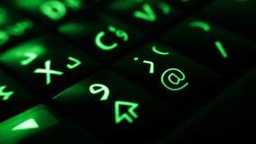 Smartphone tangentbord Fotografering för Bildbyråer