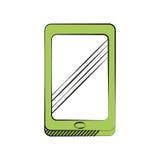 Smartphone technology communication icon Royalty Free Stock Photo