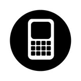 Smartphone technology line icon Stock Photo