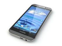 Smartphone, telefone celular no fundo branco Imagem de Stock
