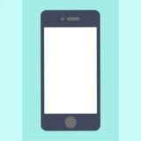 Smartphone telefonu komórkowego technologii wizytówki ikony sieci znaka symbolu loga płaska etykietka Fotografia Royalty Free