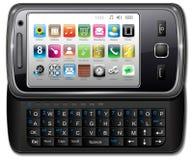 Smartphone, teléfono móvil Foto de archivo libre de regalías