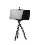Smartphone on a tripod  Royalty Free Stock Photos