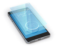 Smartphone Ui Realistic royalty free illustration