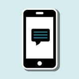 smartphone usługa projekt royalty ilustracja