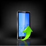 Smartphone vector. Stock Image
