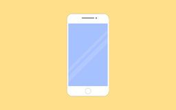 Smartphone vector illustration in flat design style Royalty Free Stock Photography